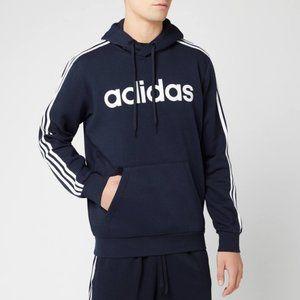 adidas Long Sleeve 3-Stripes Hoodie